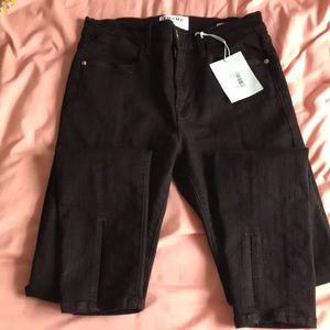 Frame Denim Jeans - FRAME Denim Le High Skinny Black Jean 27